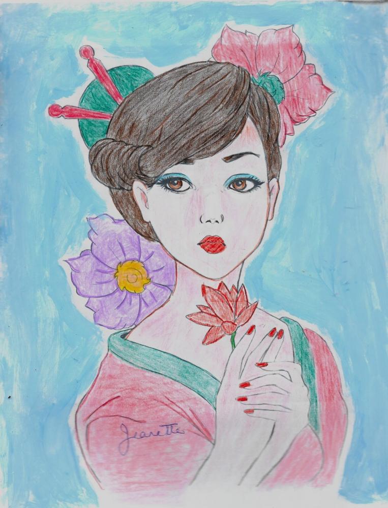 Zhang Ziyi por Jeanette